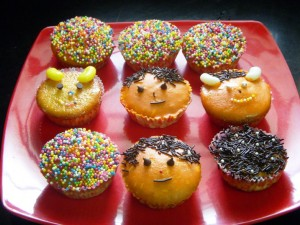 Decorated Muffins